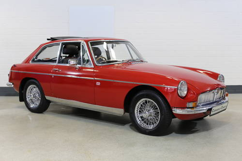 1969  MG B GT from long term ownership. SOLD (picture 2 of 6)
