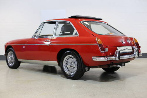 1969  MG B GT from long term ownership. SOLD (picture 3 of 6)