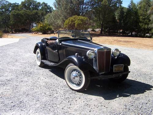 1953 MG TD black for sale For Sale (picture 1 of 6)