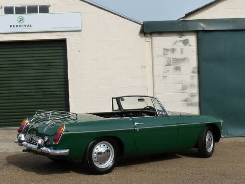 1963 MGB roadster Mk1, 'pull handle', SOLD SOLD (picture 2 of 6)