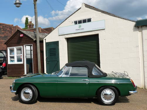 1963 MGB roadster Mk1, 'pull handle', SOLD SOLD (picture 5 of 6)