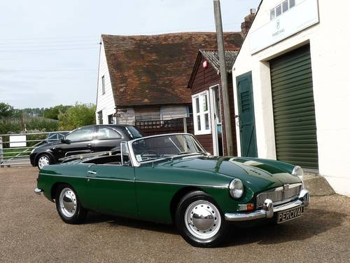 1963 MGB roadster Mk1, 'pull handle', SOLD SOLD (picture 6 of 6)
