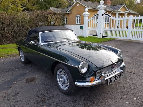 1967 MGB Roadster, Fresh Nut & Bolt Restoration, Exceptional SOLD (picture 1 of 6)