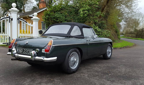 1967 MGB Roadster, Fresh Nut & Bolt Restoration, Exceptional SOLD (picture 2 of 6)