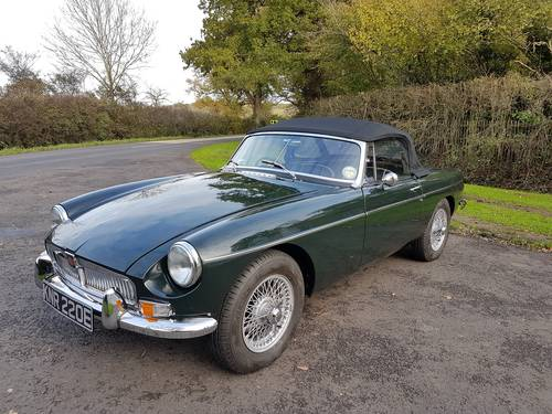 1967 MGB Roadster, Fresh Nut & Bolt Restoration, Exceptional SOLD (picture 3 of 6)