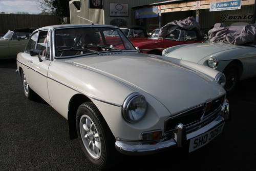 1973 MGB GT HERITAGE SHELL SOLD (picture 1 of 5)
