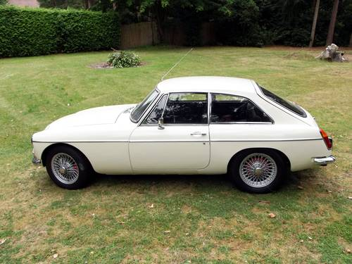1968 MG C GT (chrome bumpers and manual overdrive gearbox) SOLD (picture 6 of 6)
