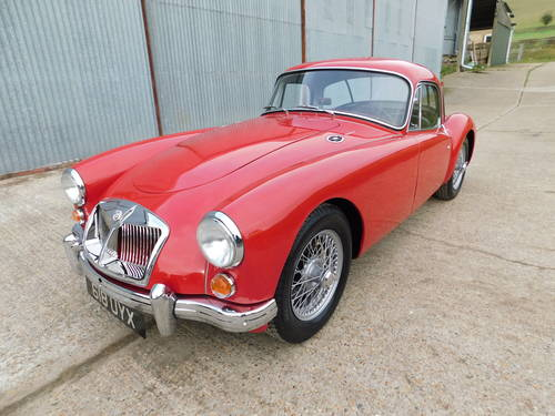 Superb 1961 MGA MkII 1600 Coupe LHD For Sale (picture 1 of 6)