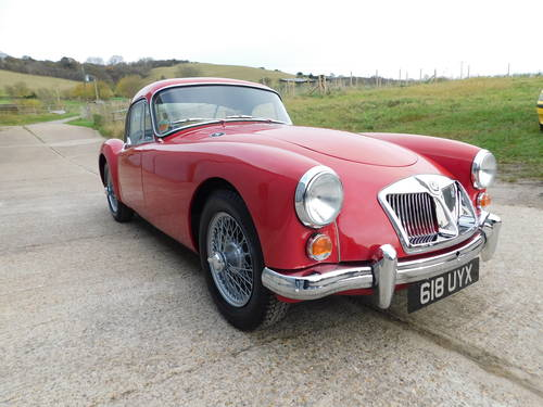 Superb 1961 MGA MkII 1600 Coupe LHD For Sale (picture 2 of 6)