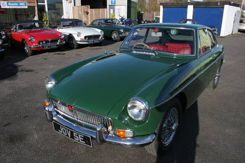 1967 MGB GT MK1, JOV 5E,  SOLD (picture 1 of 6)