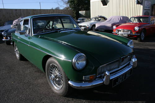 1967 MGB GT MK1, JOV 5E,  SOLD (picture 2 of 6)
