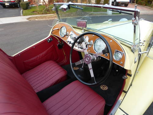 1948 MG TC  Very Presentable - SOLD (picture 5 of 6)