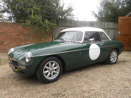 1970 MGB Hillclimb/Sprint/Historic rallying/Trackday Competiton  SOLD (picture 1 of 6)