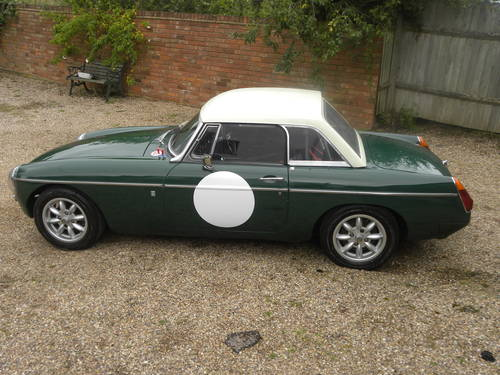 1970 MGB Hillclimb/Sprint/Historic rallying/Trackday Competiton  SOLD (picture 3 of 6)