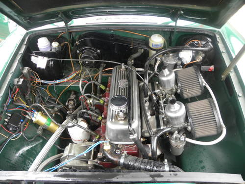 1970 MGB Hillclimb/Sprint/Historic rallying/Trackday Competiton  SOLD (picture 5 of 6)
