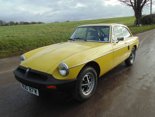 1981 MG BGT SOLD (picture 1 of 6)