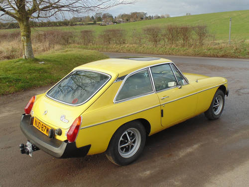1981 MG BGT SOLD (picture 3 of 6)