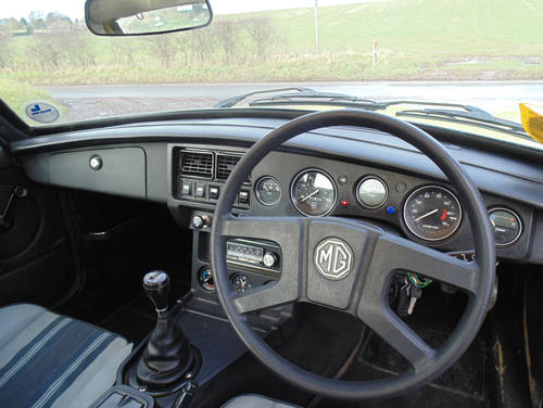 1981 MG BGT SOLD (picture 4 of 6)