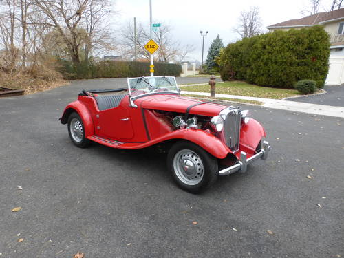 1951 MG TD MK-II Good Driver - SOLD (picture 1 of 6)