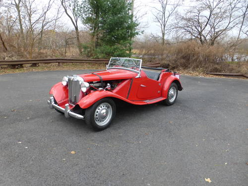 1951 MG TD MK-II Good Driver - SOLD (picture 3 of 6)