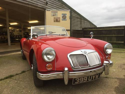 1960 MGA 1600 for sale in Hampshire ... SOLD (picture 1 of 6)