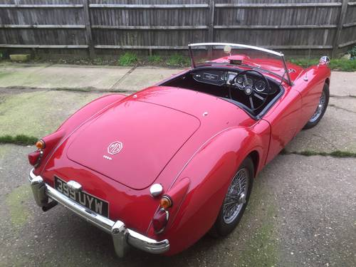 1960 MGA 1600 for sale in Hampshire ... SOLD (picture 5 of 6)