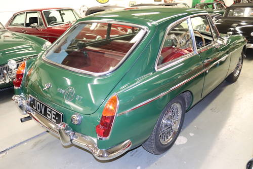 1967 MGB GT MK1, JOV 5E,  SOLD (picture 6 of 6)