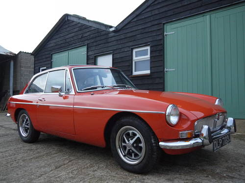 1971 MGB GT AUTOMATIC WITH PAS AND 2000cc ENGINE UPGRADE !! SOLD (picture 1 of 6)