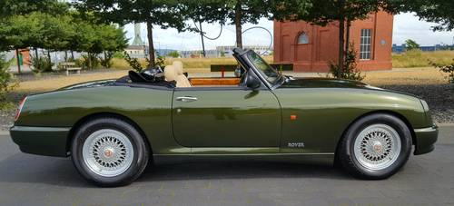1995 CONVERTIBLE * ONLY 687 KILOMETERS * 1 OWNER *  For Sale (picture 3 of 6)