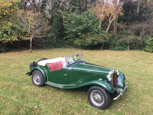 1952 MG TD with Performance upgrades. For Sale (picture 2 of 6)
