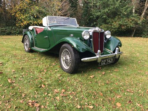 1952 MG TD with Performance upgrades. For Sale (picture 3 of 6)