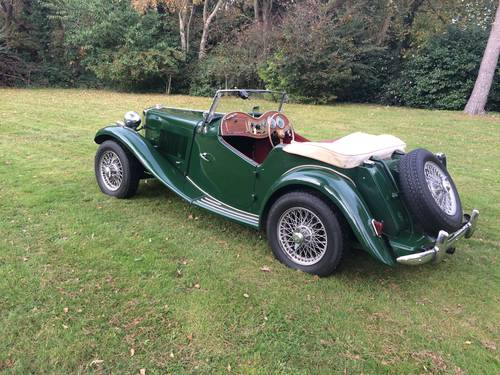 1952 MG TD with Performance upgrades. For Sale (picture 4 of 6)