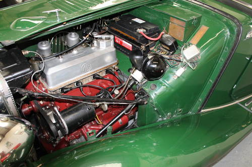 1952 MG TD with Performance upgrades. For Sale (picture 6 of 6)