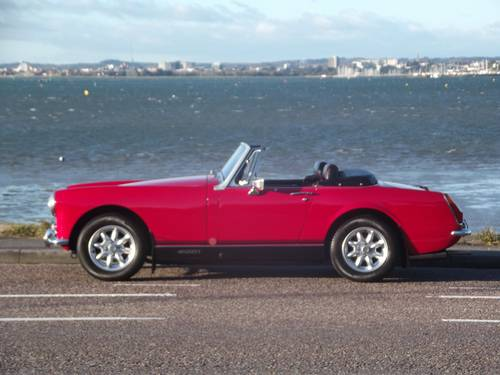1974 MG MIDGET RWA 1275 SPORTS CONVERTIBLE SOLD (picture 3 of 6)