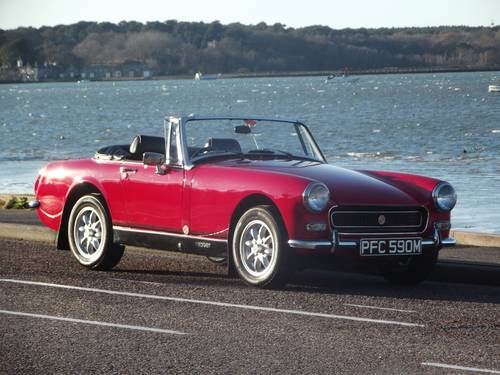1974 MG MIDGET RWA 1275 SPORTS CONVERTIBLE SOLD (picture 1 of 6)