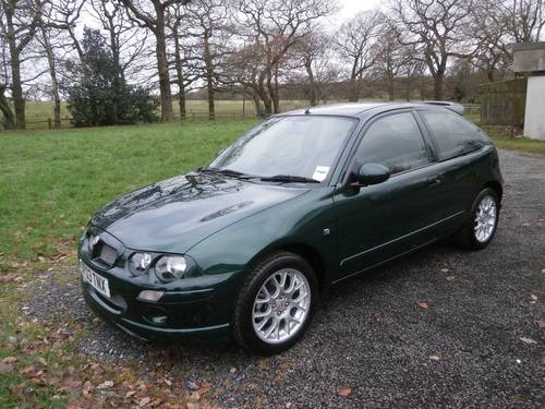 2003 MG ZR B.R.G JUST 4351 MILES ** CONCOURS SHOW CAR **  SOLD (picture 1 of 6)