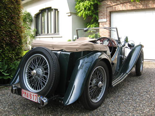MG TC (1947) from second owner - SOLD SOLD (picture 1 of 6)