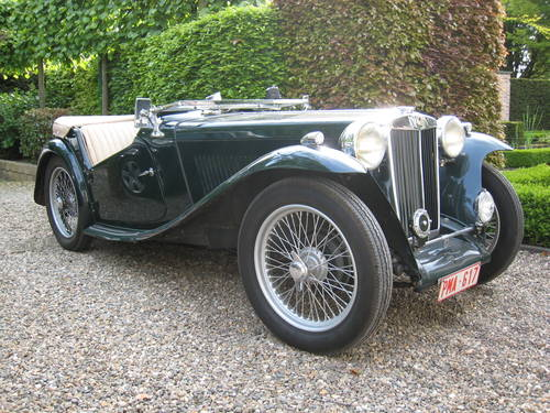 MG TC (1947) from second owner - SOLD SOLD (picture 3 of 6)