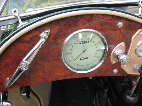 MG TC (1947) from second owner - SOLD SOLD (picture 4 of 6)