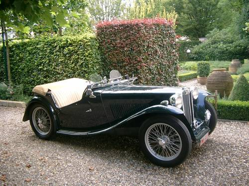 MG TC (1947) from second owner - SOLD SOLD (picture 5 of 6)