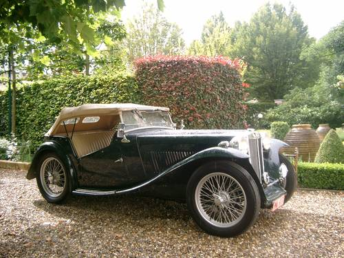 MG TC (1947) from second owner - SOLD SOLD (picture 6 of 6)