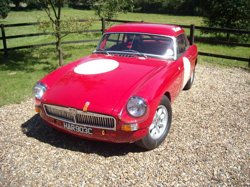 MGB Historic Racer For Sale (picture 4 of 6)