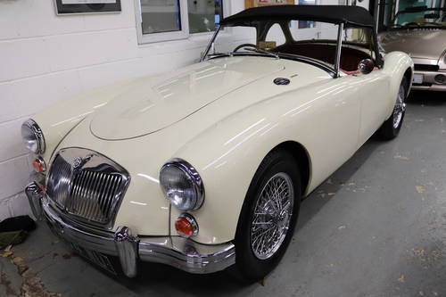 1960 MGA 1600 MK1 ROADSTER  ,UK car, Fully upgraded SOLD (picture 1 of 4)
