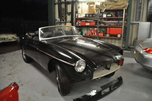 1975 MG MGB CHROME BUMPER ROADSTER TAX EXEMPT O/D SOLD (picture 2 of 6)
