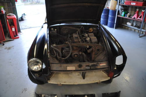 1975 MG MGB CHROME BUMPER ROADSTER TAX EXEMPT O/D SOLD (picture 5 of 6)