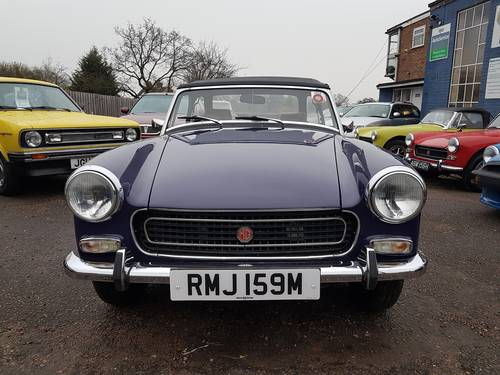 1974 MG Midget MK 111 SOLD (picture 1 of 6)