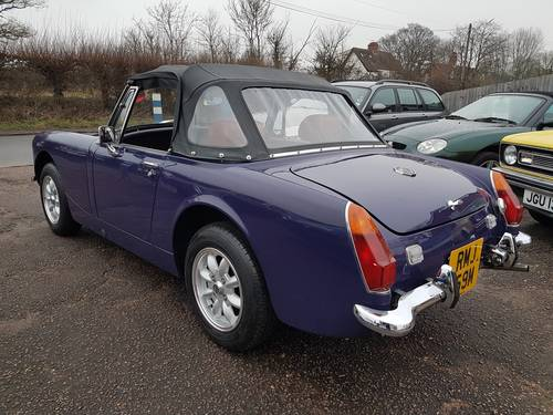 1974 MG Midget MK 111 SOLD (picture 4 of 6)