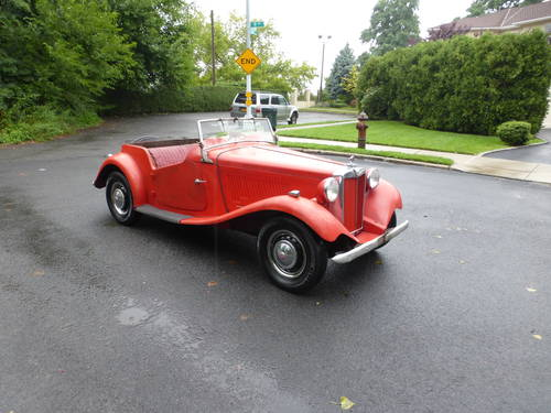1953 MG TD Runs And Drives Needs Restoration For Sale (picture 1 of 6)