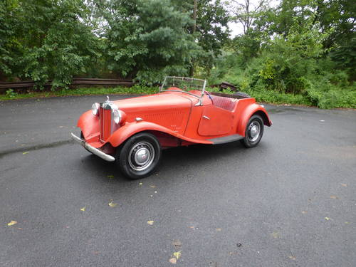 1953 MG TD Runs And Drives Needs Restoration For Sale (picture 3 of 6)