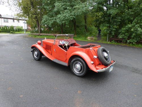 1953 MG TD Runs And Drives Needs Restoration For Sale (picture 4 of 6)